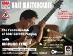 Poster Bass Masterclass Horizontal